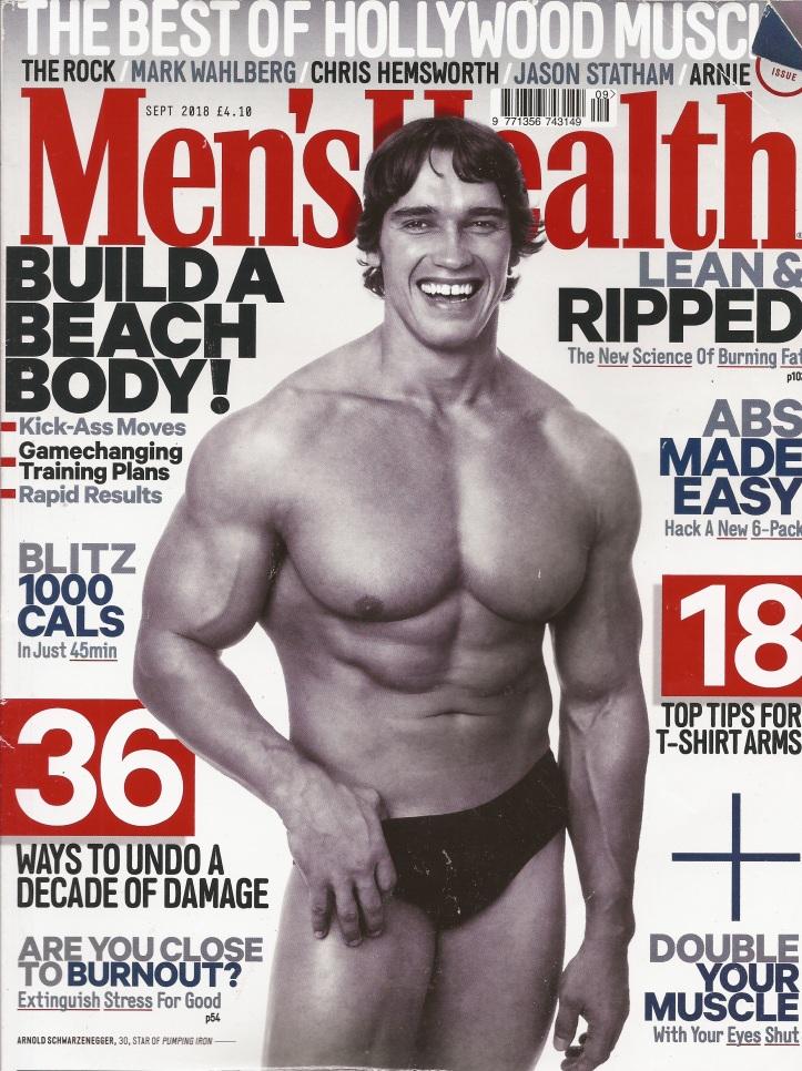 MEN'S HEALTH MAGAZINE SEPTEMBER ARGOS ACTIVE PLUS 1