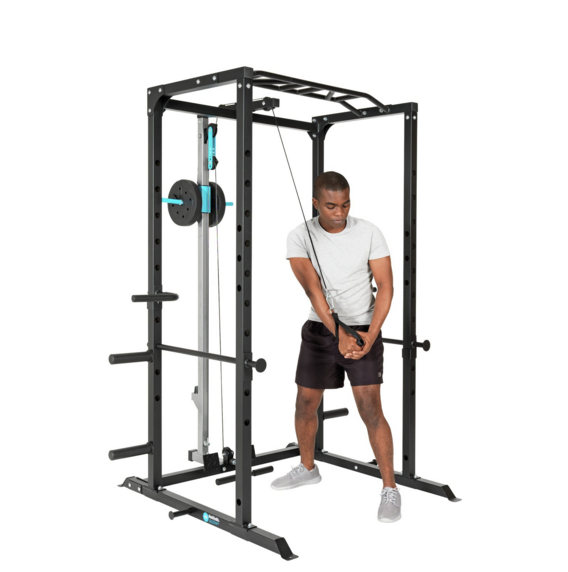 Men's Health Power Rig Pulley & Accessories 1