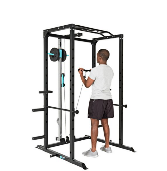 Men's Health Power Rig Pulley & Accessories 2