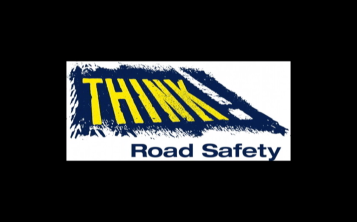 THINK! ROAD SAFETY. IT'S COMING HOME DFT 6
